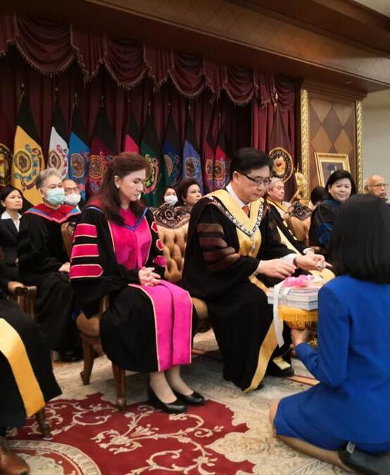 กิจกรรมไหว้ครู มหาวิทยาลัยสยาม ปีการศึกษา 2563